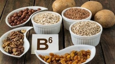 Vitamine B6 et zinc Nature4You