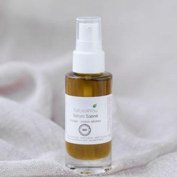 serum satine cosmetiques naturels nature4you huiles vegetales