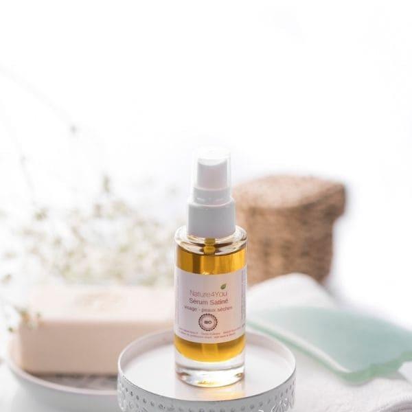 serum satine cosmetiques naturels huiles vegetales nature4you