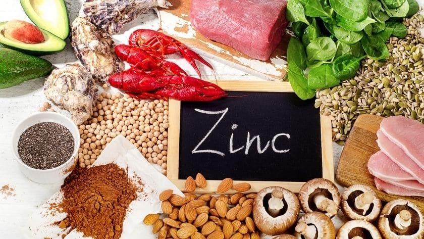 Zinc et aliments Nature4You
