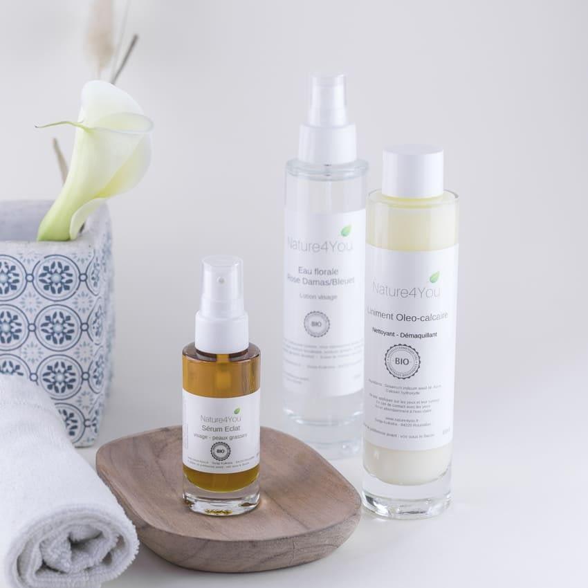 Nos différents produits cosmétiques de Nature4you